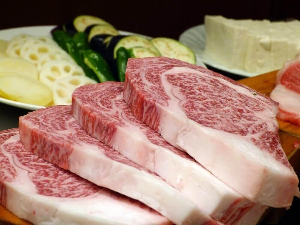 最高級の松阪牛