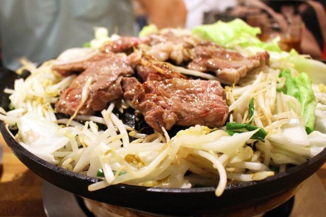 ジンギスカン肉鍋